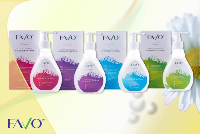 Специальное предложение на средства для интимной гигиены FAVO