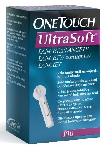 Ланцеты one touch ultra soft n100