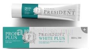 Купить Profi президент профи плюс уайт плюс зубная паста 30мл цена