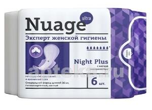 Купить Night plus прокладки женские для критических дней с мягкой поверхностью n6 цена