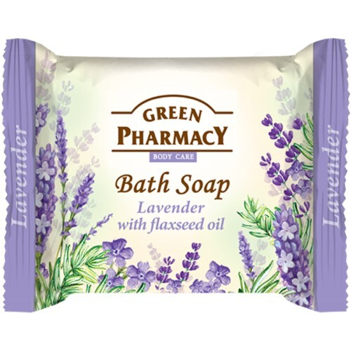 Купить Туалетное мыло лаванда с маслом льна 100,0 цена