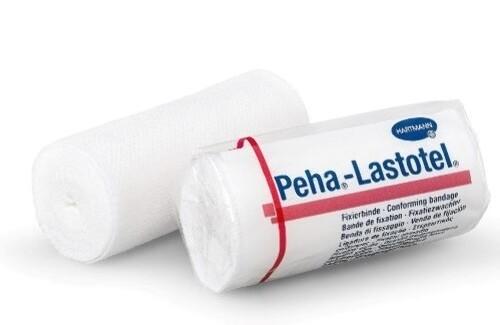 Бинт медицинский эластичный фиксирующий peha-lastotel/пеха-ластотел 8смх4м