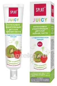 Купить Juicy зубная паста киви-клубника 35мл цена