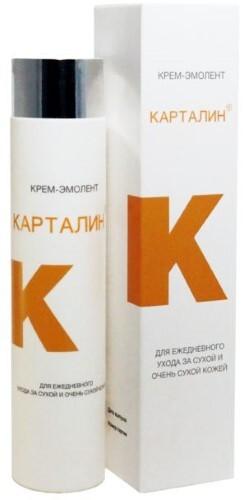Купить Карталин крем-эмолент для ежедневного ухода за сухой и очень сухой кожей 300мл цена