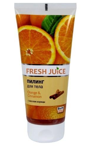 Купить Пилинг для тела апельсин и корица 200мл цена