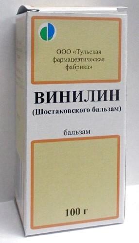 Купить ВИНИЛИН (ШОСТАКОВСКИЙ БАЛЬЗАМ) 100,0 ФЛАК БАЛЬЗАМ /ТУЛЬСКАЯ ФФ/ цена
