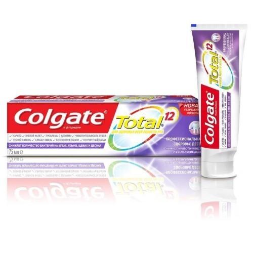 Купить Total 12 pro-здоровье десен зубная паста 75мл цена