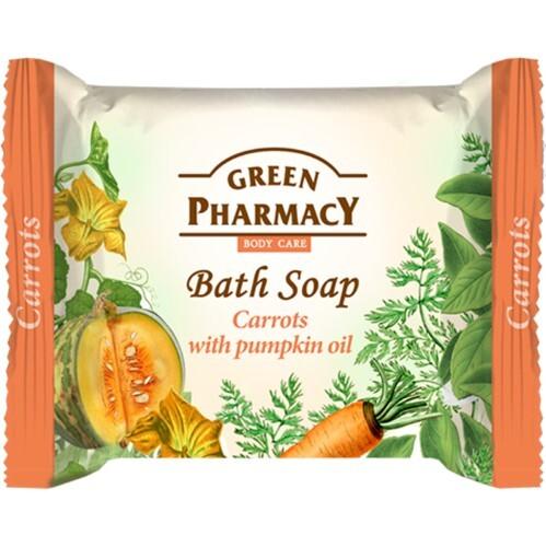 Купить Туалетное мыло морковь с маслом тыквы 100,0 цена