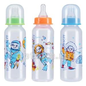 Бутылочка полипропиленовая с силиконовой соской 0+ 250мл /11101
