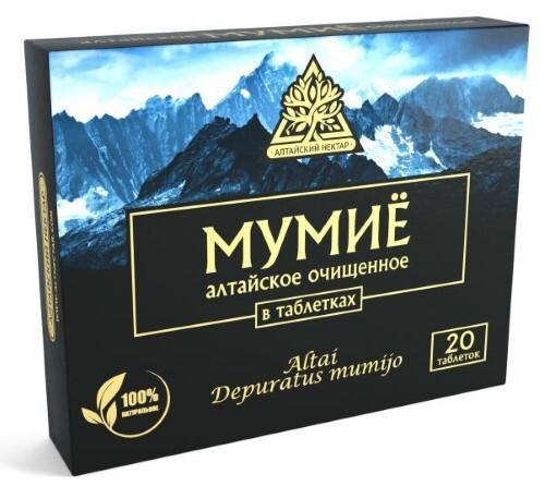 Купить Мумие алтайский нектар цена