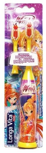 Купить For kids winx зубная щетка вибрационная для детей от 3 лет арт kwx-1 цена