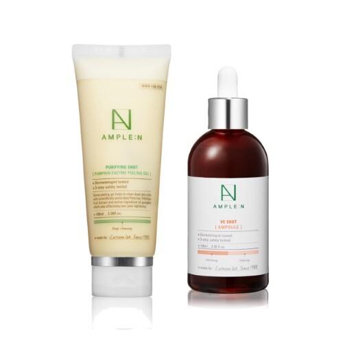 Набор AMPLEN для обновления и восстановления сияния кожи с витаминами красоты - со скидкой 30%
