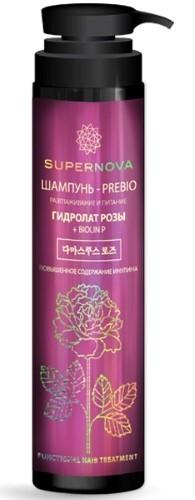Купить Шампунь-prebio разглаживание и питание гидролат розы + biolin p 350мл цена