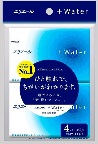 Купить +water салфетки бумажные (платочки) n14х4 цена
