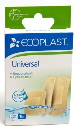 Купить Набор ecoplast набор пластырей мед полимер universal n16 2 уп по цене 1! цена