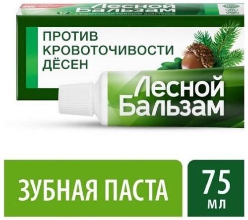 Купить Зубная паста с корой дуба при кровоточивости десен 75мл цена