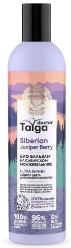 Купить Doctor taiga бальзам био защита цвета для окрашенных волос 400мл цена