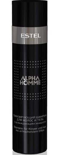 Купить Professional alpha homme шампунь для волос тонизирующий с охлаждающим эффектом 250мл цена