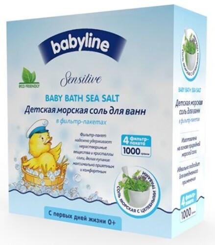 Купить Sensitive детская морская соль для ванн с целебными травами 1000,0 цена