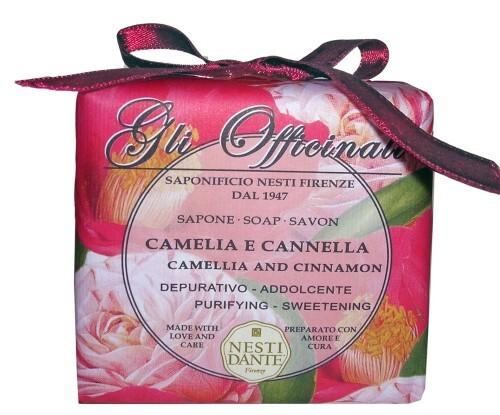 Купить Gli officinali мыло камелия и корица 200,0 цена