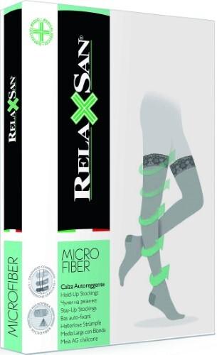 Купить Basic microfiber чулки компрессионные stay-up цена