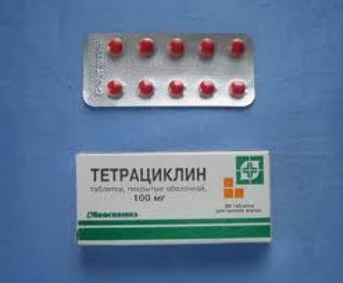 Купить Тетрациклин 0,1 n20 табл п/плен/оболоч/биосинтез цена