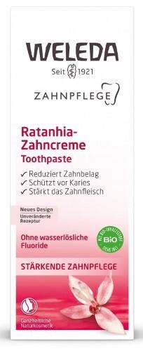 Купить Растительная зубная паста ратания 75мл цена