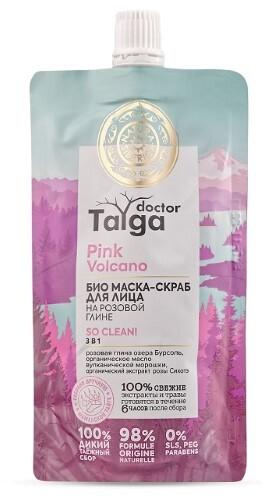 Купить Doctor taiga маска-скраб для лица био 3в1 100мл цена