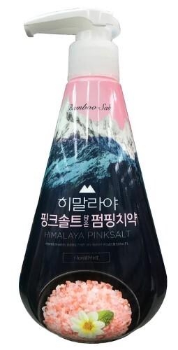 Купить Зубная паста с розовой гималайской солью pumping himalaya pink salt floral mint 285,0 цена