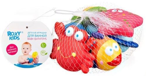Купить Набор игрушек для ванной морские обитатели 6+ n6 цена