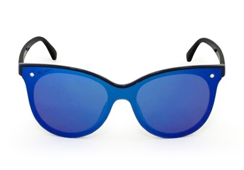 Купить Очки поляризационные женские корич голубая зеркальная линза/cf005229 цена