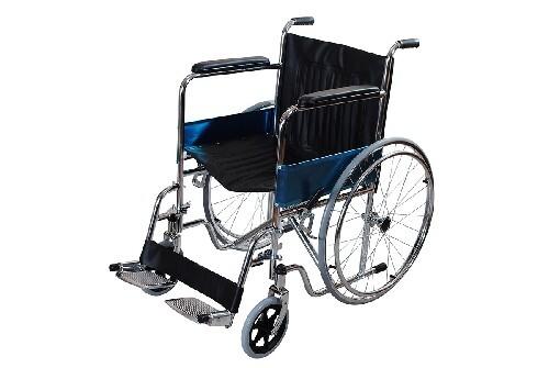 Кресло-коляска amwc18fa-sf-e со съемными подножками
