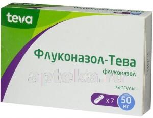 Купить Флуконазол-тева цена