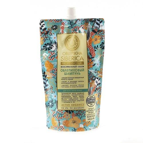 Купить Облепиховый шампунь максимальный объем 500мл/мягк уп/ цена
