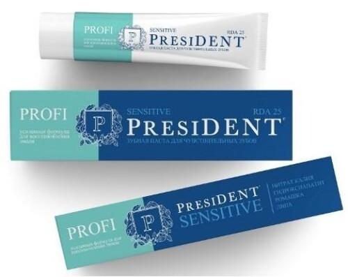 Купить Profi президент профи зубная паста сенситив 100мл цена