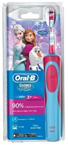 Купить Зубная щетка электрическая stages power d12.513k frozen (тип 3709) цена
