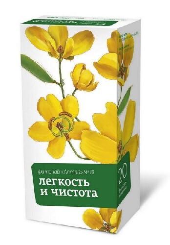 Купить Фиточай алтай n13 легкость и чистота цена
