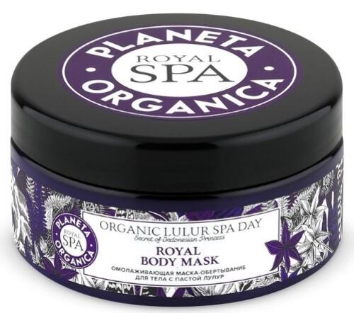 Купить Royal spa омолаживающая маска-обертывание для тела с пастой лулур 300мл цена