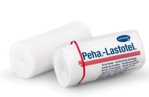 Бинт медицинский эластичный фиксирующий peha-lastotel/пеха-ластотел 6смх4м