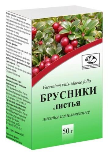 Купить БРУСНИКИ ЛИСТЬЯ 50,0/ФИТО-БОТ цена