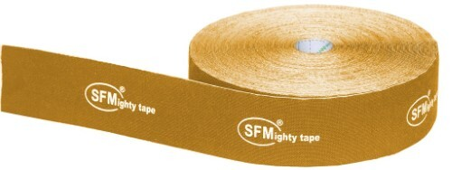 Купить Лента кинезиологическая sfm-plaster на хлопковой основе в рулоне 5х3200см n1/оранжевый/кинезио тейп цена