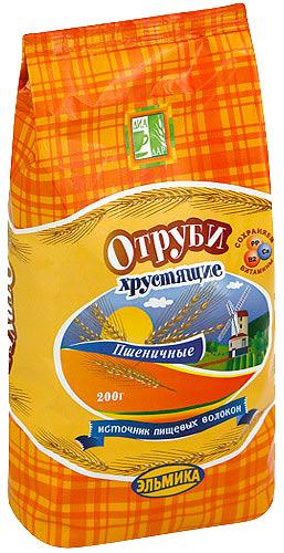 Купить Отруби пшеничные хрустящие 200,0 цена