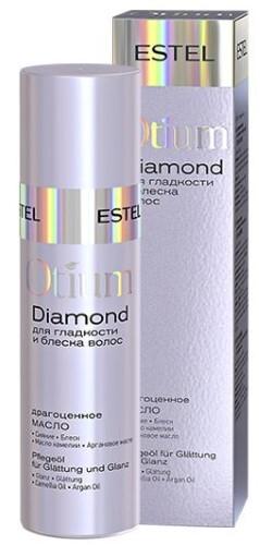 Купить ESTEL PROFESSIONAL OTIUM DIAMOND МАСЛО ДРАГОЦЕННОЕ ДЛЯ ГЛАДКОСТИ И БЛЕСКА ВОЛОС 100МЛ цена