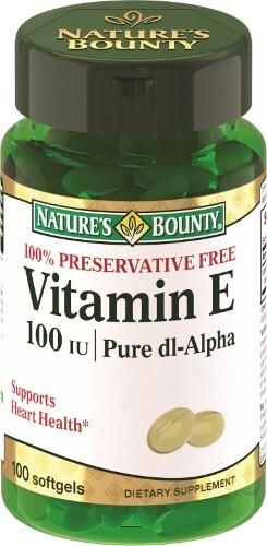 Купить Нэйчес баунти витамин е 100ме n100 капс цена