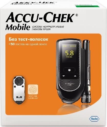 Купить Глюкометр акку-чек мобайл /набор/ цена