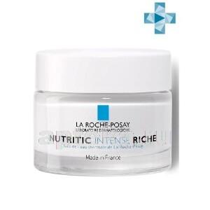 Купить La roche-posay nutritic intense riche питательный крем для глубокого восстановления сухой и очень сухой кожи 50 мл цена