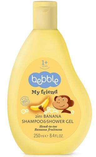 Купить My friend шампунь и гель для душа 2в1 250мл/с ароматом банана цена