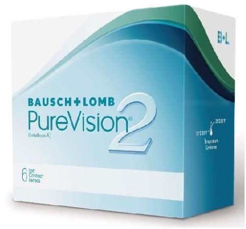 Купить BAUSCH&LOMB PURE VISION 2 КОНТАКТНЫЕ ЛИНЗЫ ПЛАНОВОЙ ЗАМЕНЫ /-7,50/ N6 цена