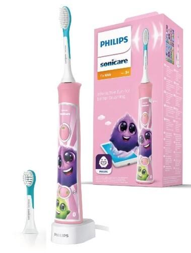 Купить Электрическая зубная щетка для детей for kids hx6352/42 с мобильным приложением цена