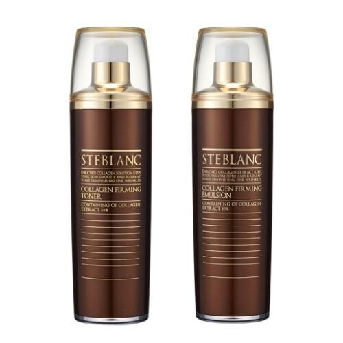 Набор STEBLANC «Лифтинг кожи в летний период»: тонер и легкая эмульсия с коллагеном